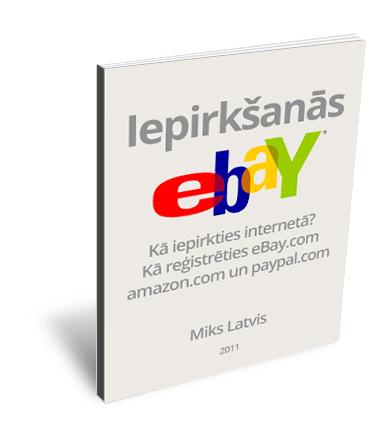"""e-grāmata """"Iepirkšanās eBay.com"""""""