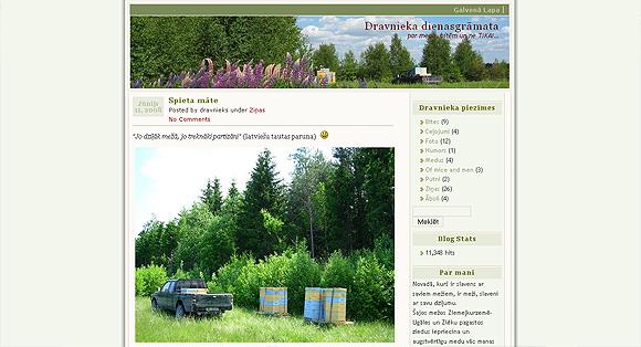 dravnieka dienasgramata - dravnieks.lv