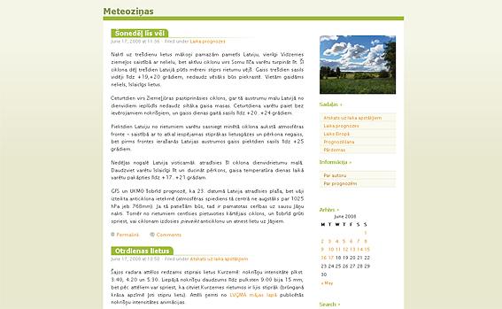 Meteoziņas