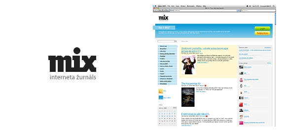 mix.lv internet journal