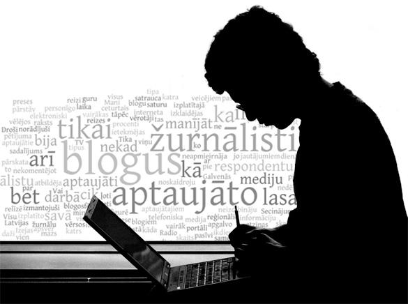 Latvijas žurnalisti lasa blogus?