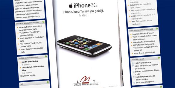 iphone reklāma