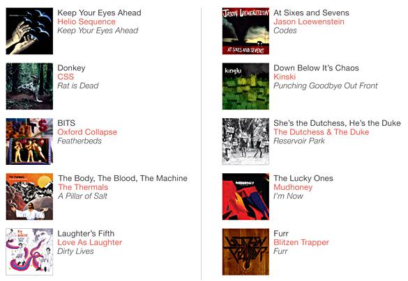 dziesmu liste