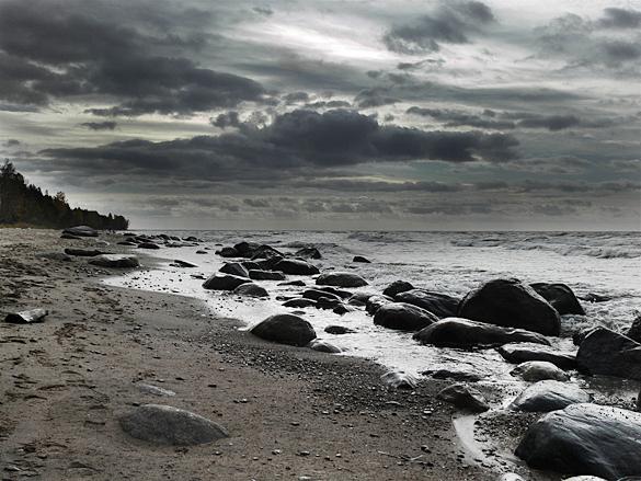 Lauču pludmale