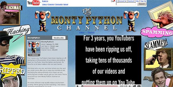 Montija Paitona youtube kanāls