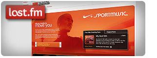 Nike Sport mūzika, tagad last.fm