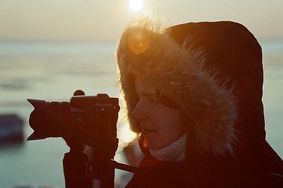fofogrāfija ar fotogrāfu