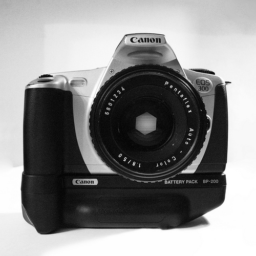 Canon EOS 300 komplekts