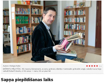 Robert's Books SestDienas raksts