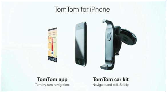 tomtom iphone kit