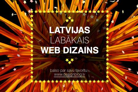 nobalso par Latvijas labāko web dizainu