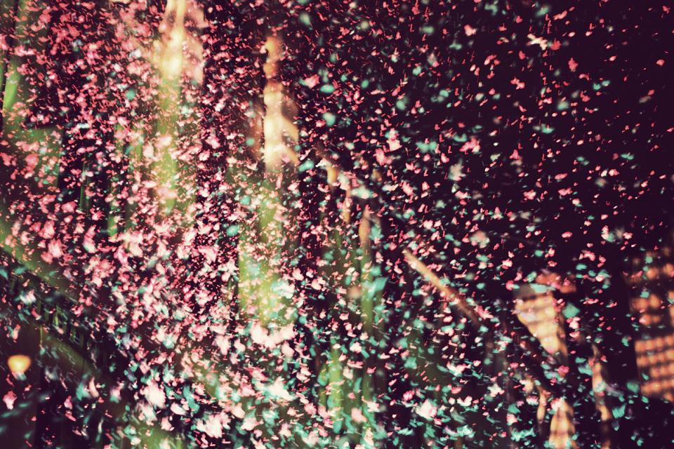 Putu sniegs, Urbānie džungļi, Kultūras koledžas pagalms, Baltā nakts