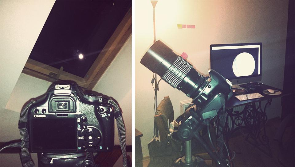 Mēness fotografēšana un filmēšana 18. februārī jeb Mēness perigejs