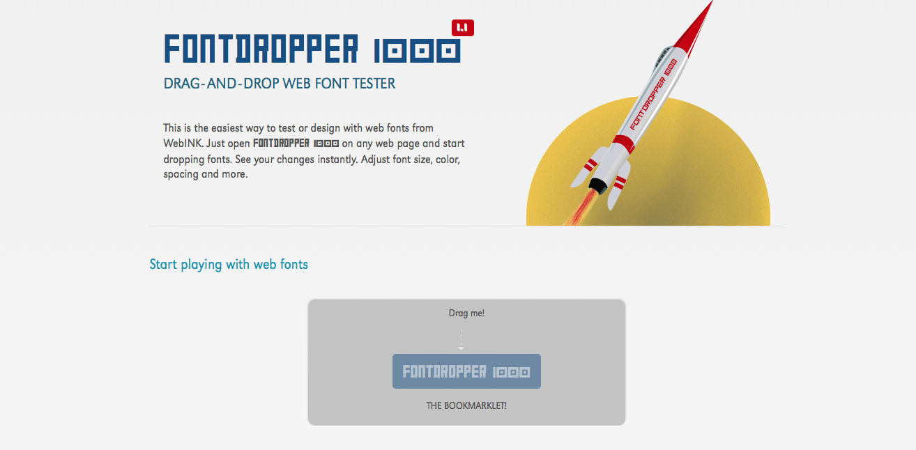 FontDropper – izmaini jebkuras lapas fontus