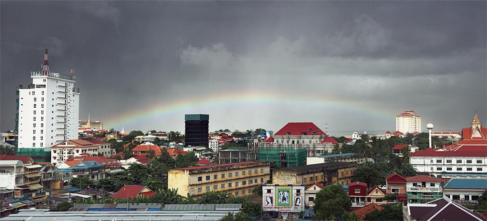 Varavīksne Pnompeņā