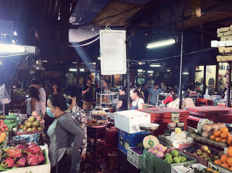 Tuol Tom Pong tirgus