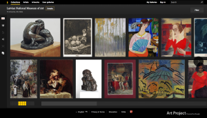 Latvian National Museum of Art 70 Artworks, 28 Artists