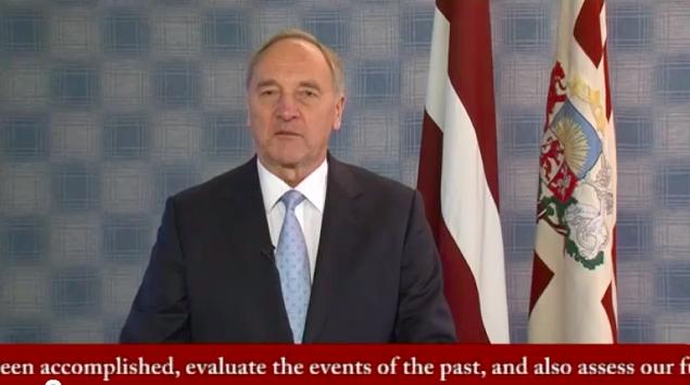 Valsts prezidenta uzruna 18.novembrī ārzemēs dzīvojošajiem tautiešiem