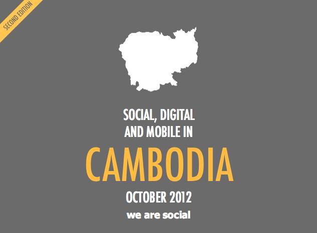 internets, mobilie sakari un sociālie tīkli Kambodžā