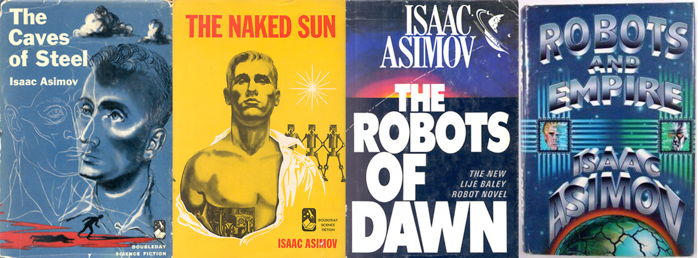 """Isaac Asimov """"Roboti un impērija"""""""