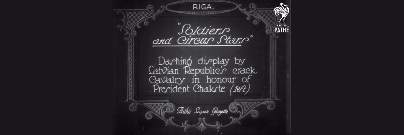 British Pathé video ziņu arhīvi par Rīgu un Latviju no 1926. gada