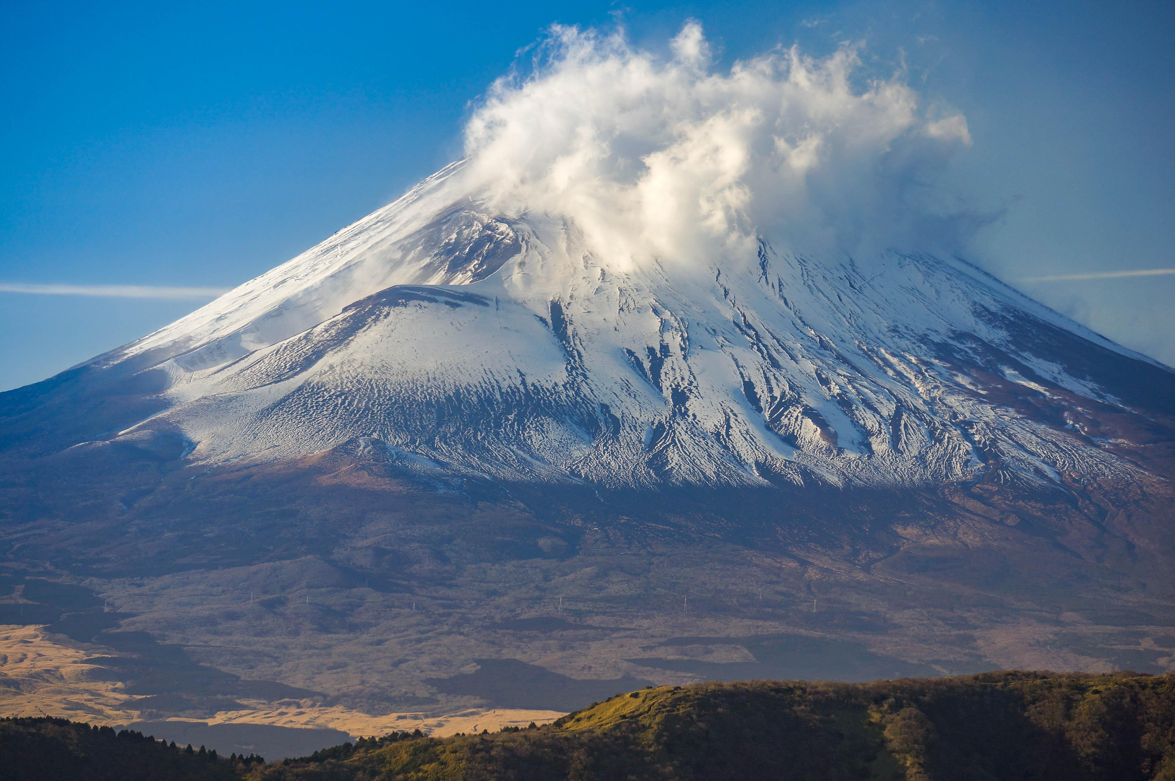 Pirmais latvietis, kas uzkāpis Fudzi vulkānā